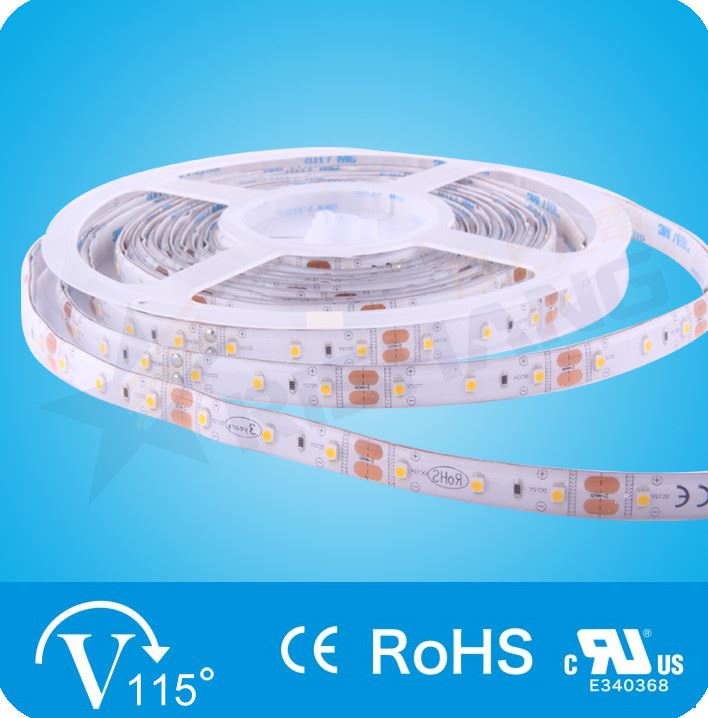 Тепло-белая  6,0W SMD3528 (60 LED/м) (ww) 2740-2870K Outdoor IP65 Rishang Premium